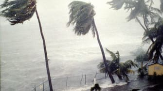 Subtropical Storm Alberto will make landfall on Monday.