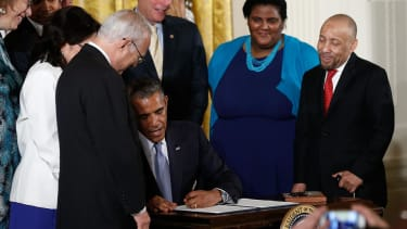 Obama signs executive order to protect LGBT Americans