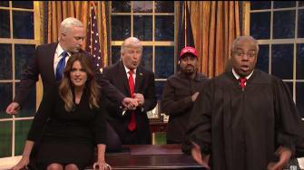 SNL cast.