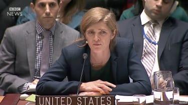 Samantha Power, U.S. ambassador to the U.N., blasts Russia, Syria, Iran over Aleppo