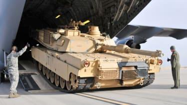 U.S. tanks