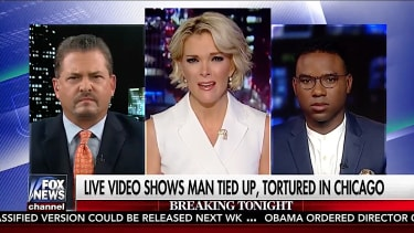 Megyn Kelly talks about the Chicago torture video