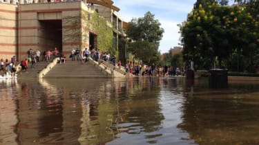 UCLA, Sunset Boulevard flooded after enormous water main break