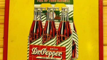 Dr. Pepper was originally sold as a brain tonic that would supposedly energize the consumer.