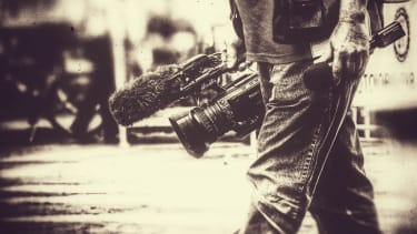 A video reporter.