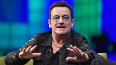 Bono's injured arm scratches U2's weeklong residency on Fallon's Tonight Show