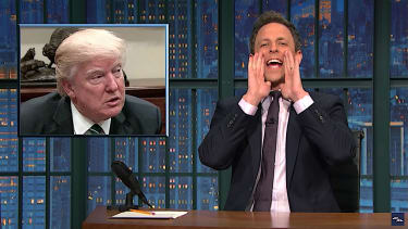 Seth Meyers recaps House intelligence hearing on Trump and Russia