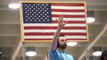 The U.S. economy grew at a brisk 5 percent annual rate last summer