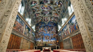 Pope Francis is renting out the Sistine Chapel for a corporate event