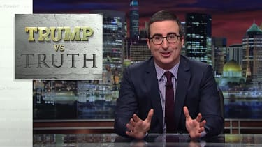 John Oliver tackles Trump vs. the truth