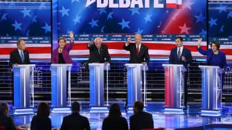Democratic candidates.