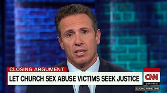 Chris Cuomo wants more liberal statutes of limitations for sex abuse