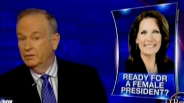 Watch Bill O'Reilly try to find the downside to a President Hillary Clinton