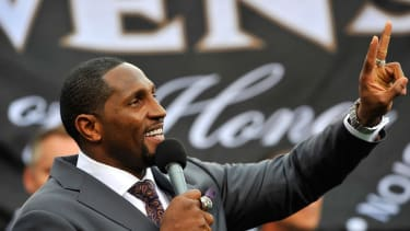 Ray Lewis on Ray Rice: 'Some things you can cover up, and then there's some things you can't'