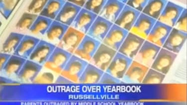 """In 2011, Russellville Middle School's yearbook named the """"top 5 worst people of all time."""" Cue the outrage..."""