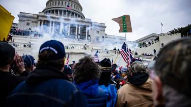 Pro-Trump supporters storm the U.S. Capitol
