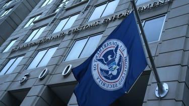 U.S Immigration and Customs Enforcement.