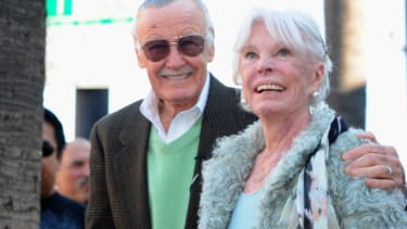 Stan and Joan Lee.