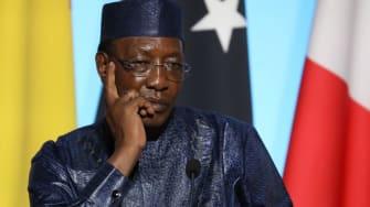 Chad's president, Idriss Deby