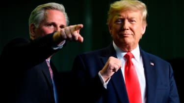 Trump and Kevin McCarthy