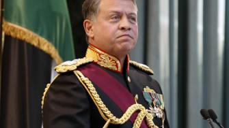 Jordan's King Abdullah in 2010.