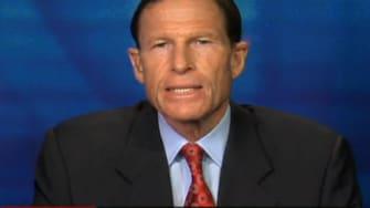 Sen. Richard Blumenthal: 'End the insanity' and revive gun control