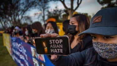 A candelight vigil in California