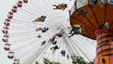 The longest Ferris wheel ride