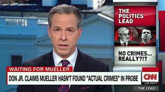 Jake Tapper isn't buying Donald Trump Jr.'s claims