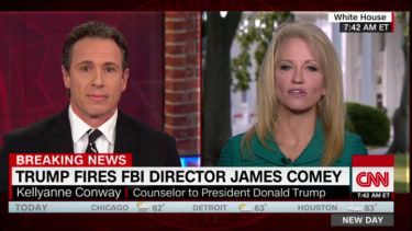 Chris Cuomo and Kellyanne Conway.