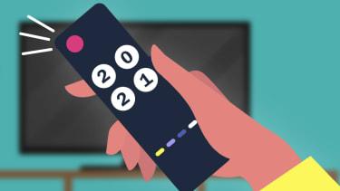 A remote control.