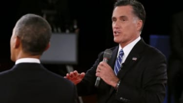 Although Mitt Romney tried to make a point about the Obama administration's evolving story on the Sept. 11 attack in Benghazi, Libya, he was hampered by saying the president waited too long t