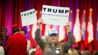 Trump supporter.