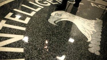 The floor at CIA headquarters.