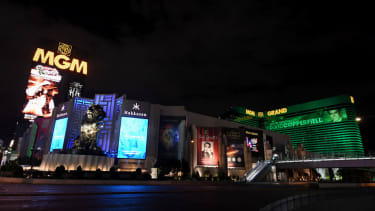 The MGM Grand in Las Vegas.