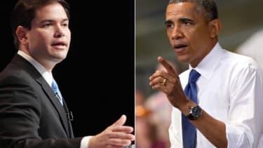 Rubio and Obama