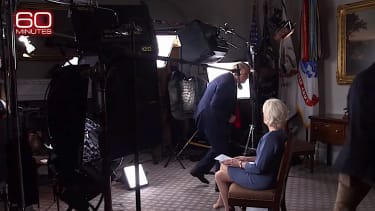 Trump ends 60 Minutes interview