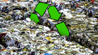 A recycling plant.