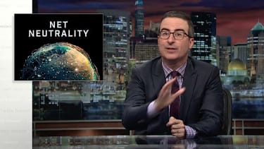John Oliver tries to save net neutrality, again