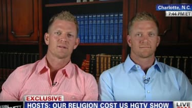 Fired HGTV hosts say the network was 'bullied' into canceling their show