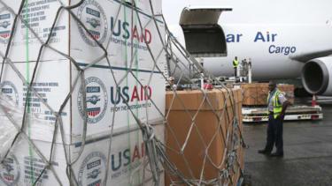Ebola aid