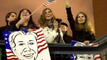A Rick Santorum rally in Washington state