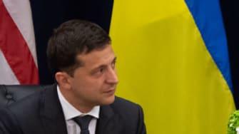 Volodymyr Zelensky and Donald Trump.