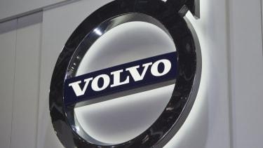 The Volvo logo in Michigan