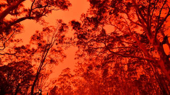 Australian wildfires.