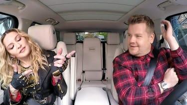 Madonna is the guest in James Corden's latest Carpool Karaoke