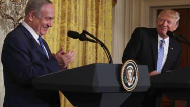 President Trump and Israel Prime Minister Benjamin Netanyahu.
