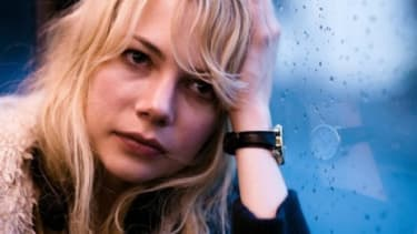 """Michelle Williams' performance as Cindy in """"Blue Valentine"""" has won her a Golden Globe nomination and some Oscar buzz."""