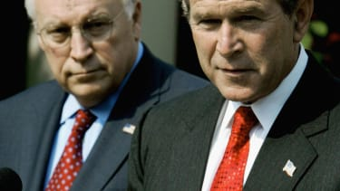Dick Cheney and George Bush, 2004.