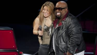 """""""The Voice"""" judges, including Cee Lo Green, double as coaches which makes them more invested and critical of the show's performers."""